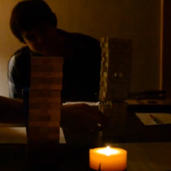 What happens when you replace RPG dice with a Jenga tower?