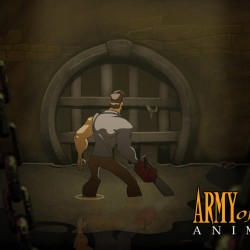 10 pictures from the animated Army of Darkness