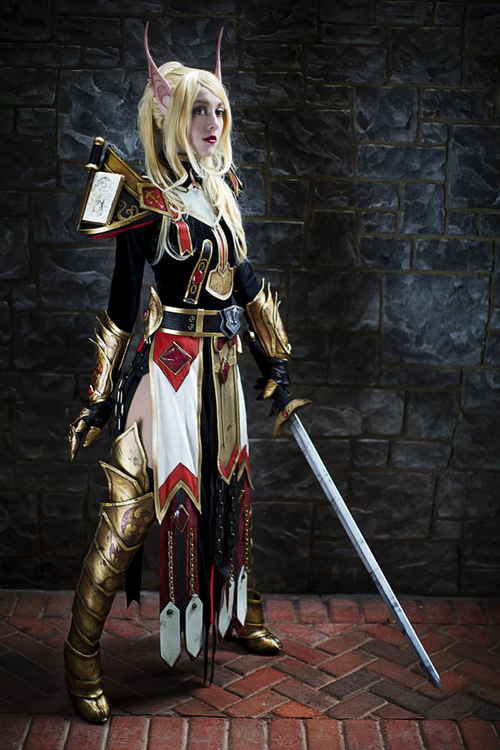 Male blood elf cosplay