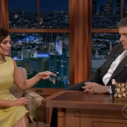 Jenna Louise-Coleman on Craig Ferguson