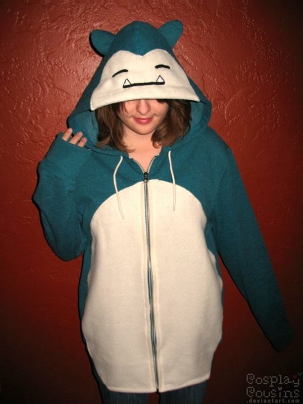 8dd67a303493 Stay snuggly warm with a Snorlax hoodie