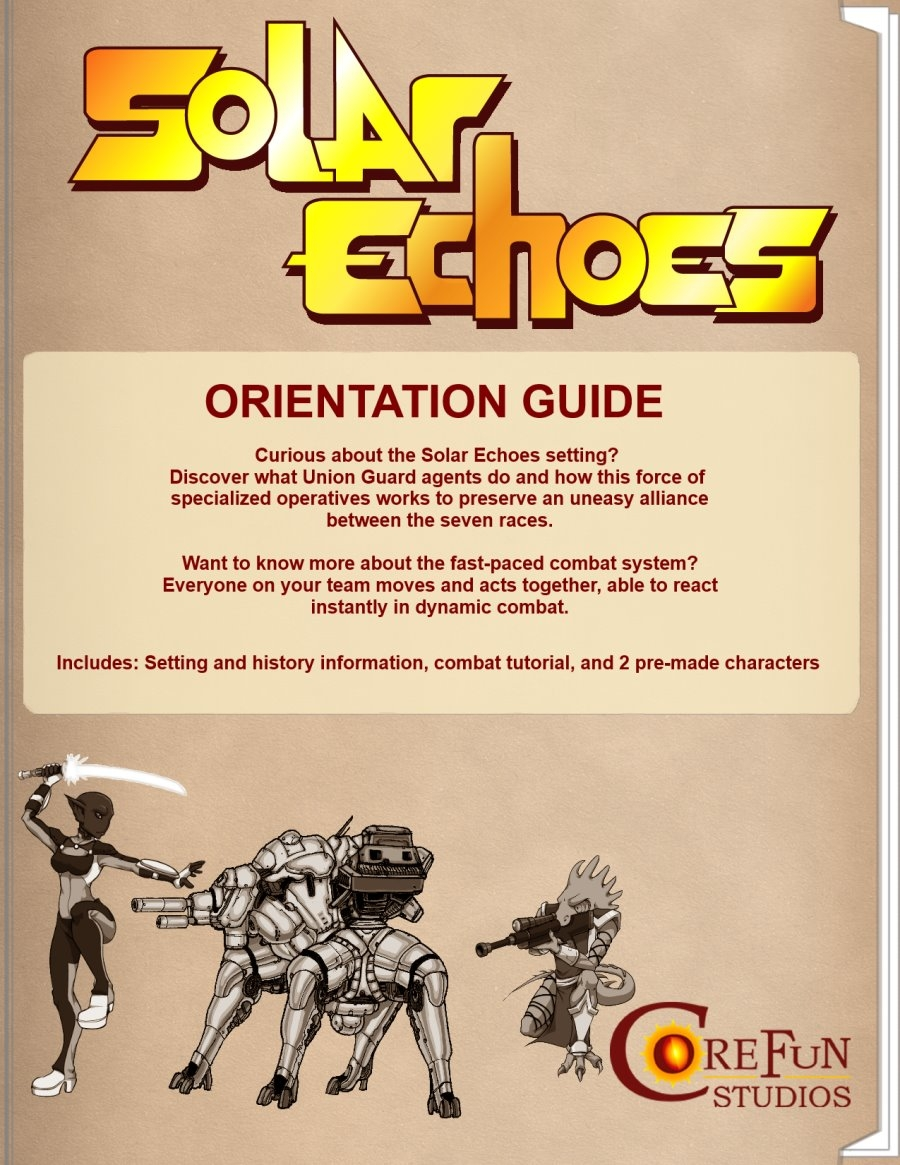 Free to Download: Solar Echoes Orientation Guide