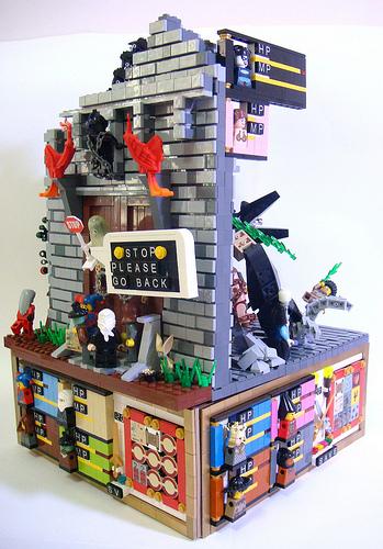 Incredible Lego RPG battle system