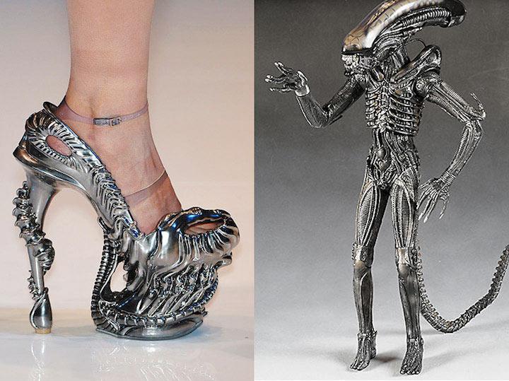 Alexander McQueen s Alien shoes 5d833b9c8