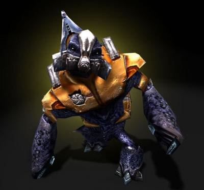 Halo Grunts made from LEGO