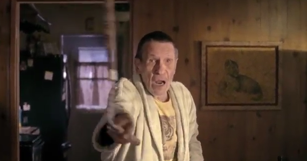 Leonard Nimoy as you've never seen him before: the Bruno Mars music video
