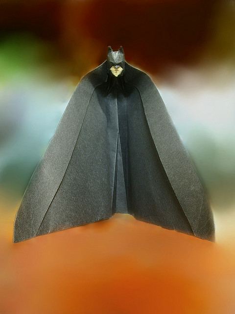 Batman Origami The Dark Papercut