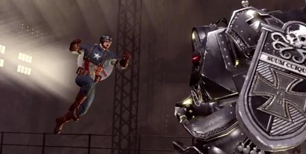 Captain America: Super Solider trailer