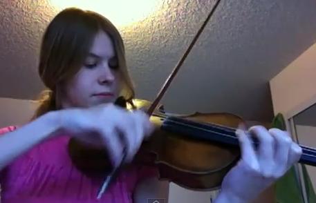Star Wars on the violin