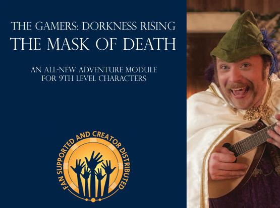 The Gamers: Dorkness Rising spawns a Pathfinder Kickstarter