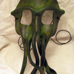 A Cthulhu mask for a masquerade ball