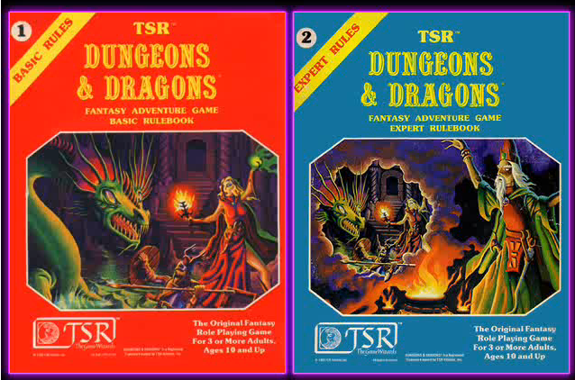 Re-create Jeff Dee's original Dungeons and Dragons art