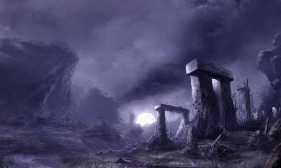 The Shadows of Esteren: A Medieval Horror RPG kickstarts