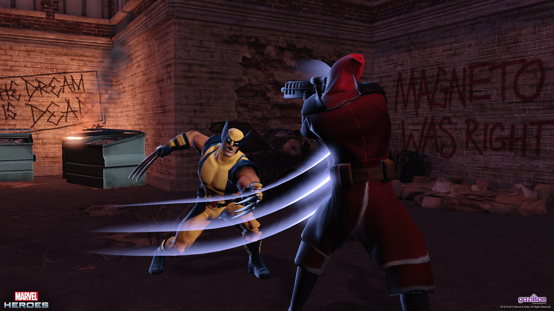 A peak at the free-to-play Marvel Heroes MMORPG