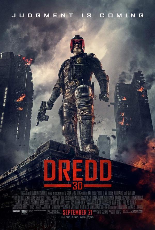 Judge the final Dredd 3D poster