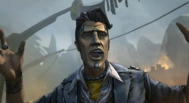 The Borderlands 2 launch trailer and bungee jump