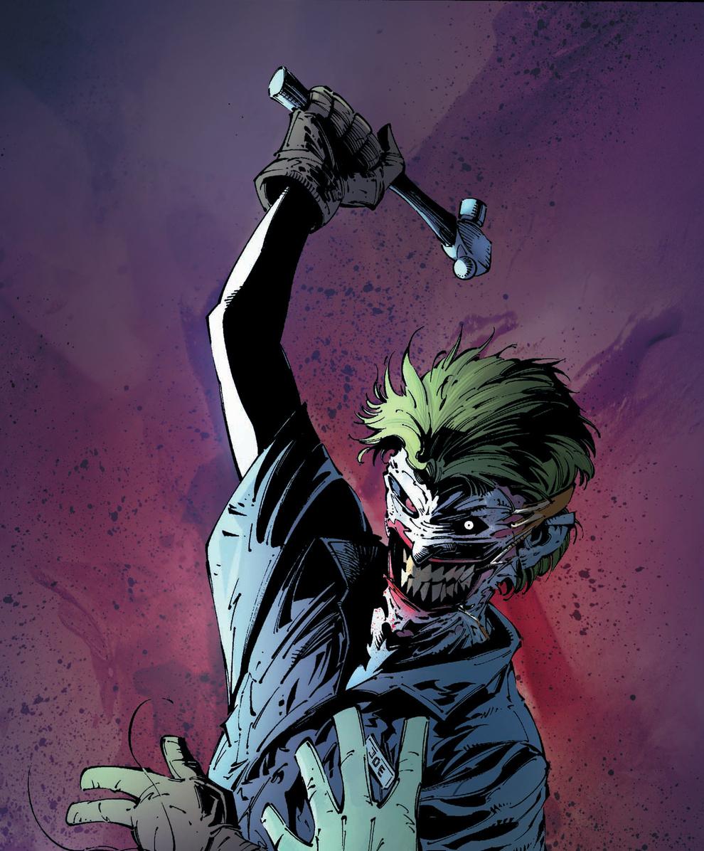 the scary new joker
