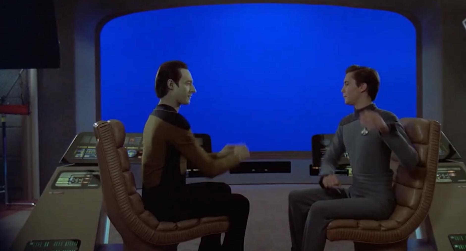 Star Trek: The Next Generation blooper reel