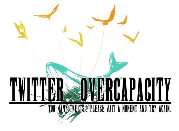 Final Fantasy style Twitter Fail Whale