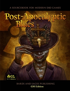 Post-Apocalyptic Blues – free player's guide with the GM's edition