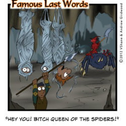 Famous Last Words: Hey you!