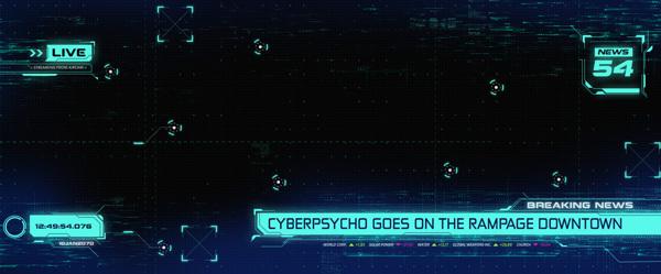 Cyberpunk UI 2