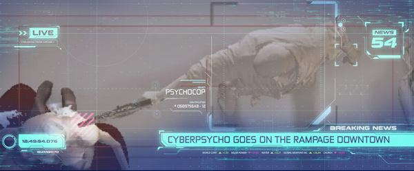 Cyberpunk UI 4