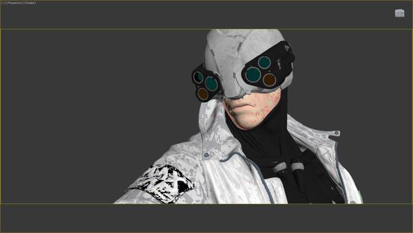 Cyberpunk 3D hair 12