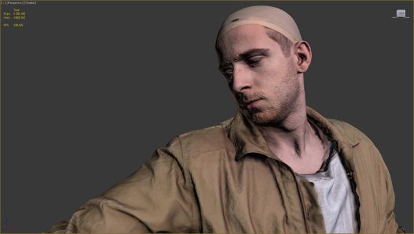 Cyberpunk 3D hair 9