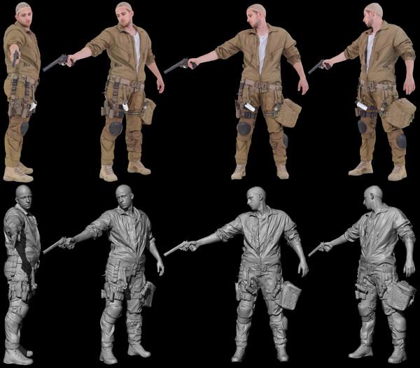Cyberpunk 3D scanning 13