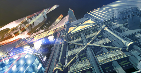 Cyberpunk Art Enviorment 7