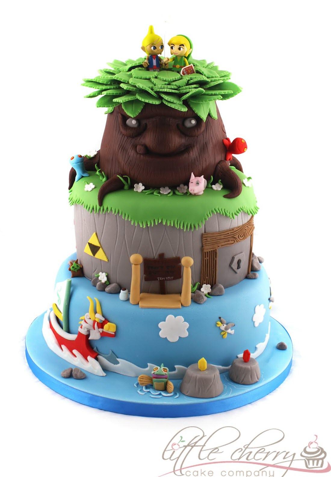 Legend Of Zelda The Wind Walker Cake
