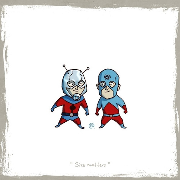 Ant-man and Atom