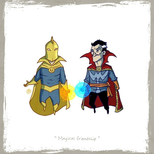 Doctor Fate and Doctor Strange
