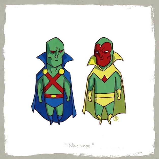 Martian Manhunter and Vision
