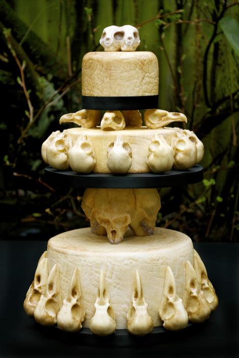 Skull Wedding Cakes - Wedding Photography