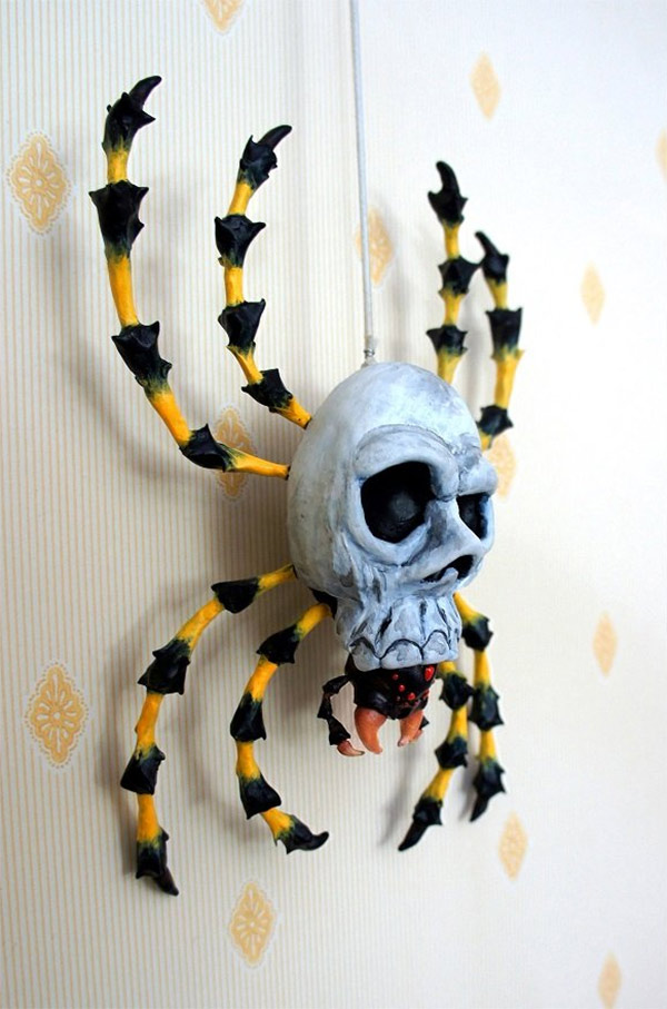 Skulltula Spider Sculpture