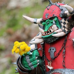 Incredible Warhammer LARP costume transcends to cosplay perfection