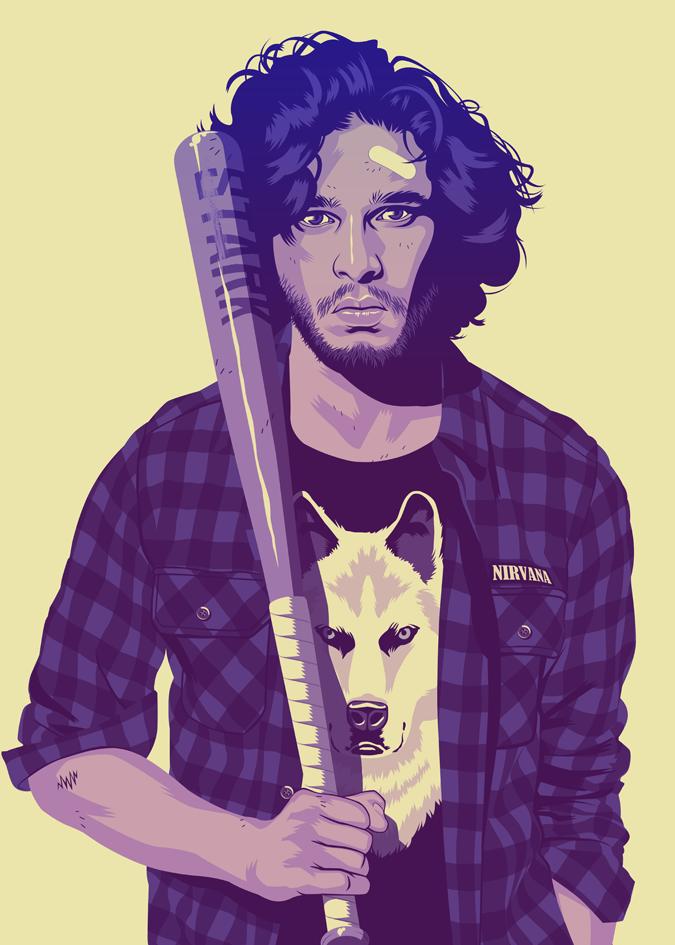 90 Jon Snow
