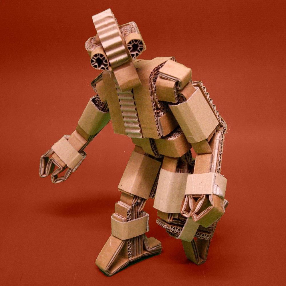 Papercraft Cardboard Robots