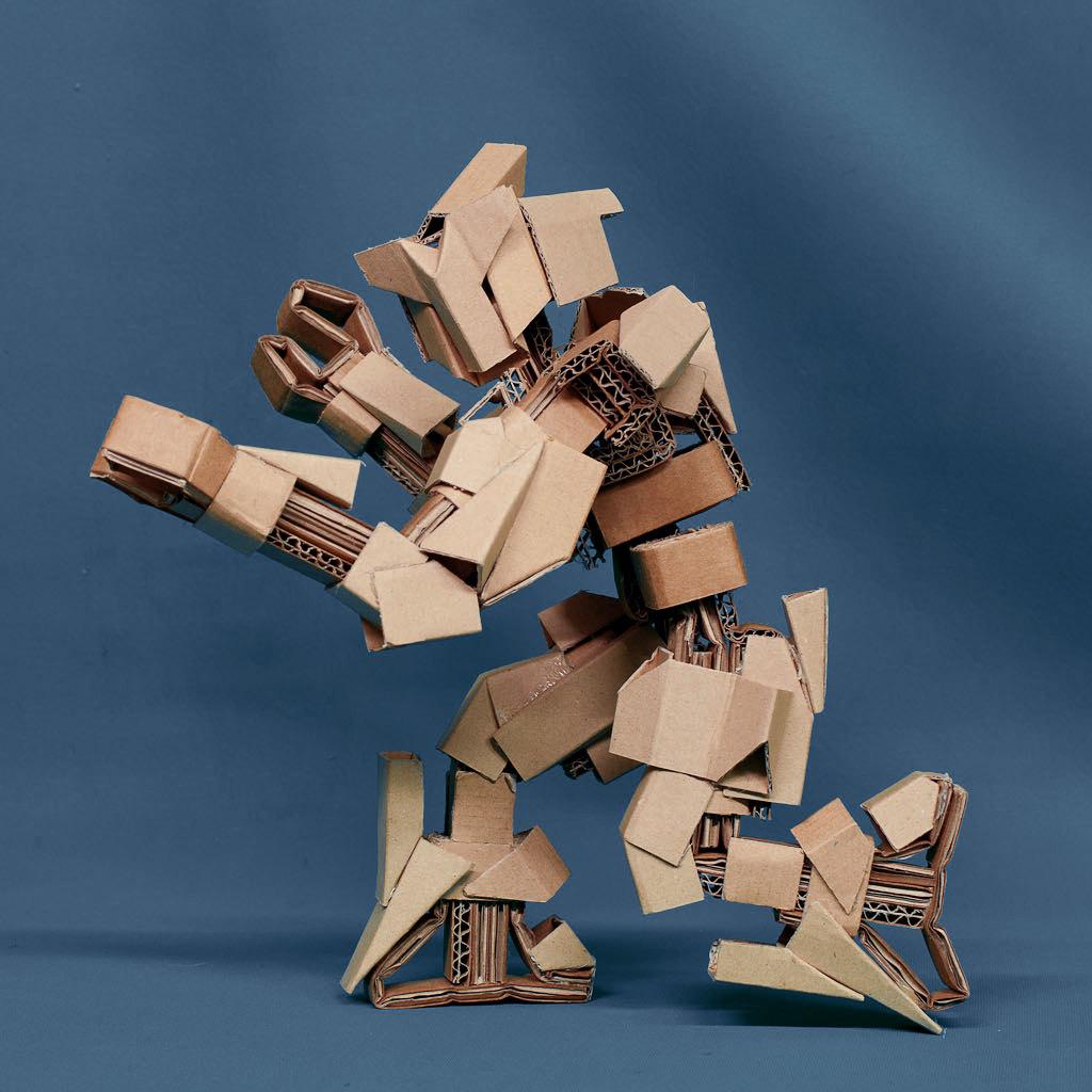 Cardboard Robots 2