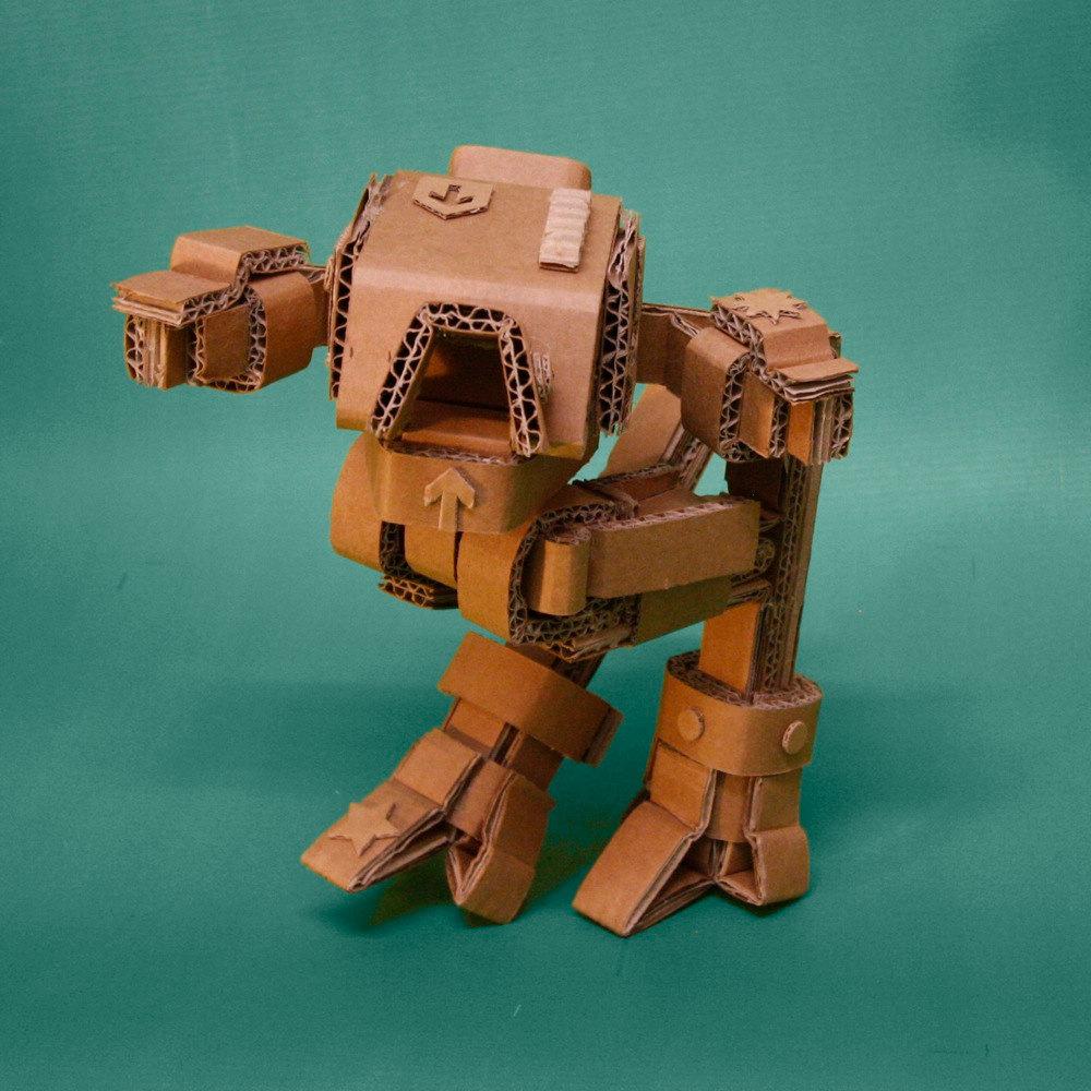 Cardboard Robots 3