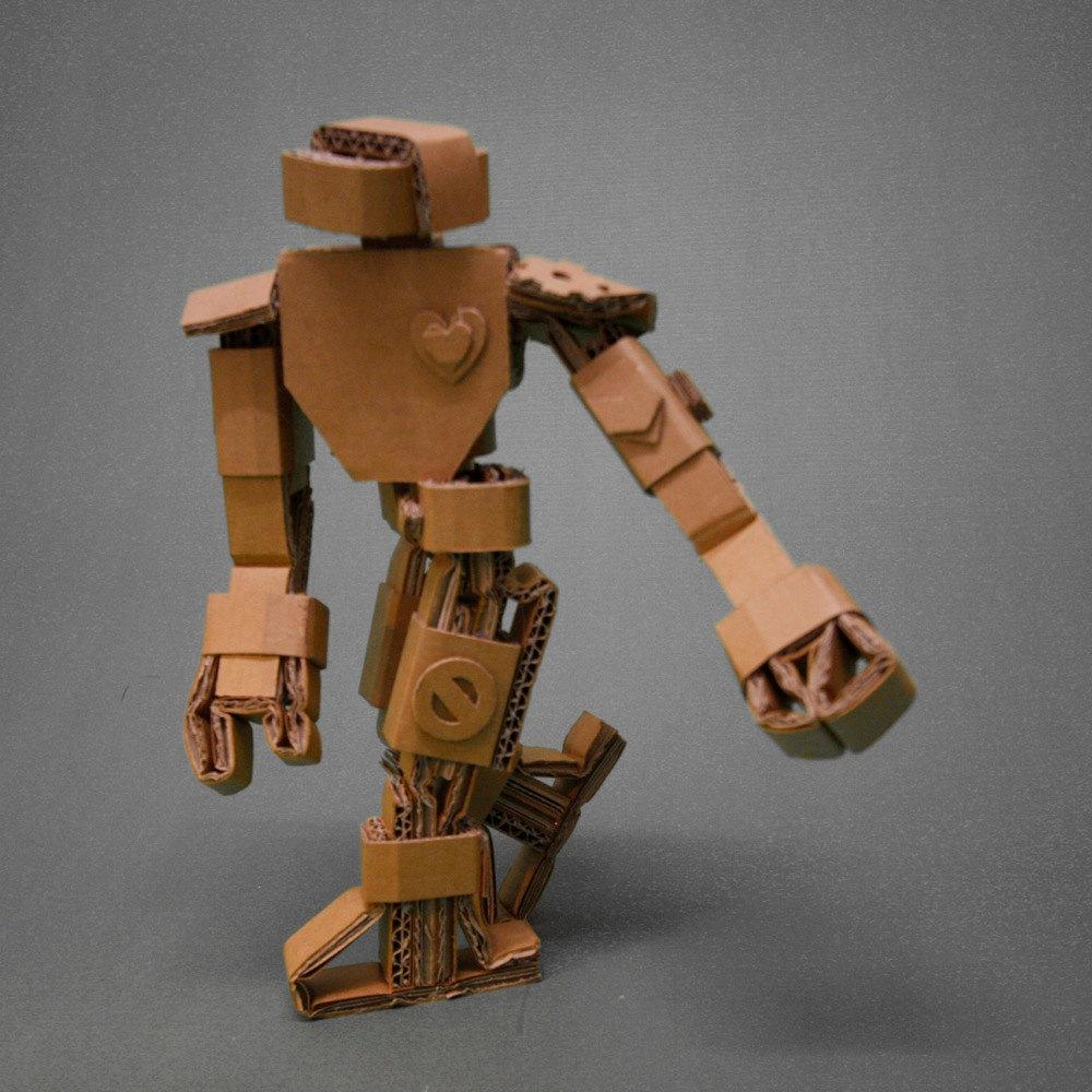 Cardboard Robots 4