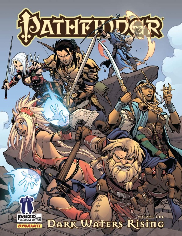Paizo release Pathfinder: Dark Waters Rising graphic novel