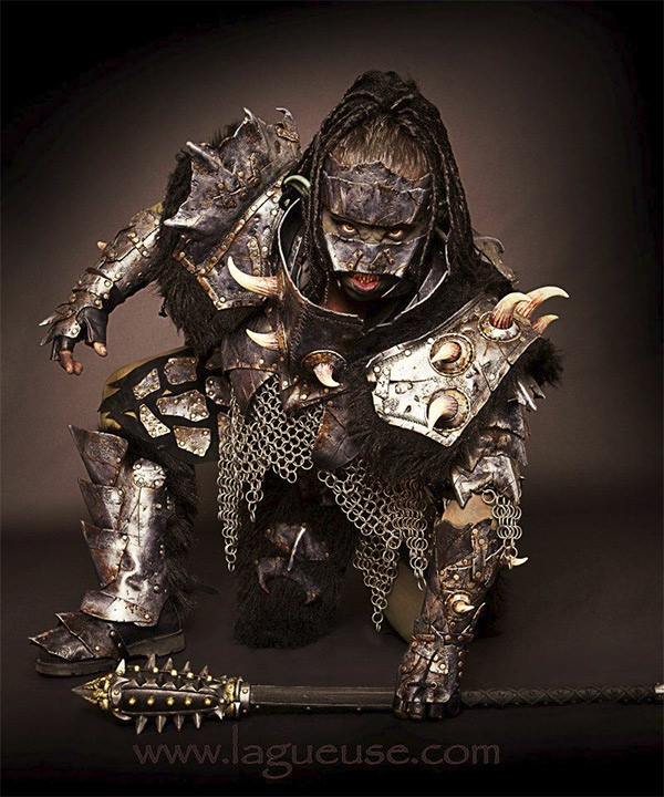 female orc warrior 1