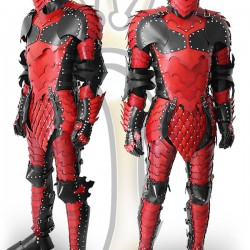 Leather Deadpool armour only has -1 Dex penalty