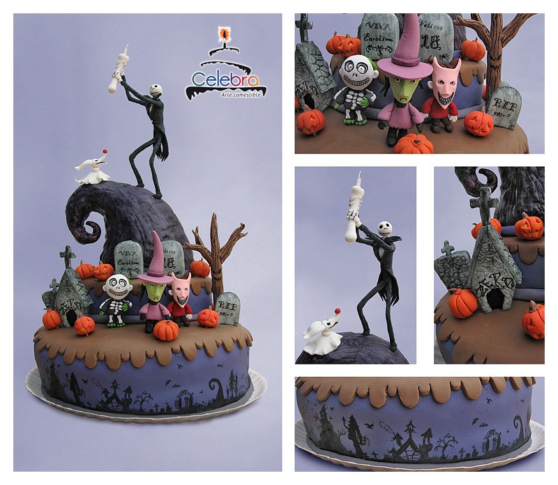 the nightmare before christmas birthday cake - Nightmare Before Christmas Birthday Decorations