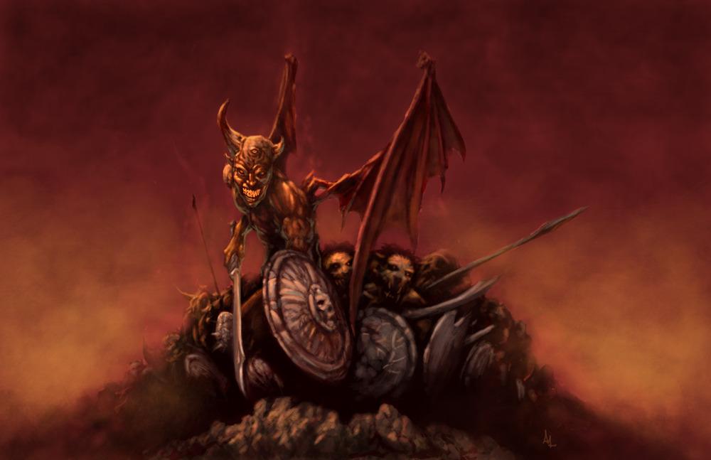 Dark Army by Alex Lopez