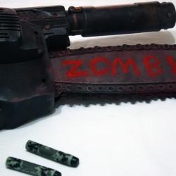 Custom built zombie hunter Nerf gun