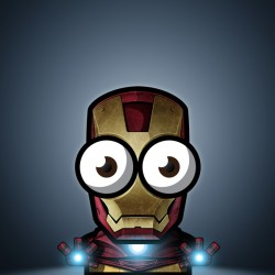 Superhero Week: Big eyed superheroes are oddly cute